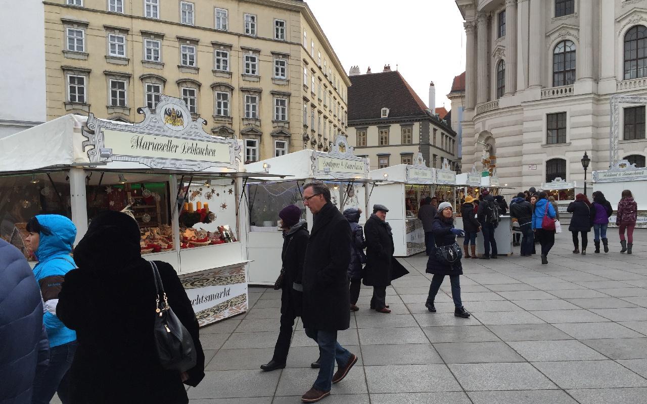 Piata de Craciun - Michaelerplatz