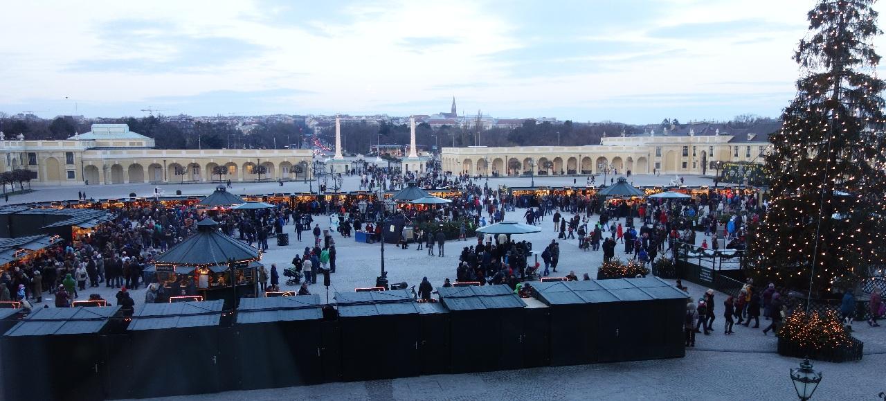 Piata de Craciun de la Schonbrunn