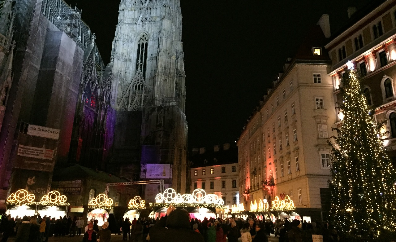 Christmas Market - Stephansplatz