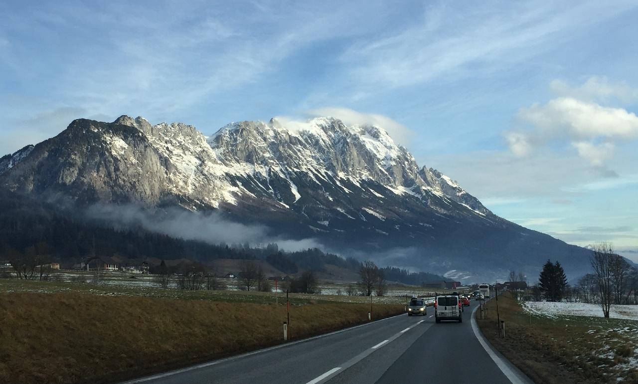 Drumul de intoarcere prin Austria