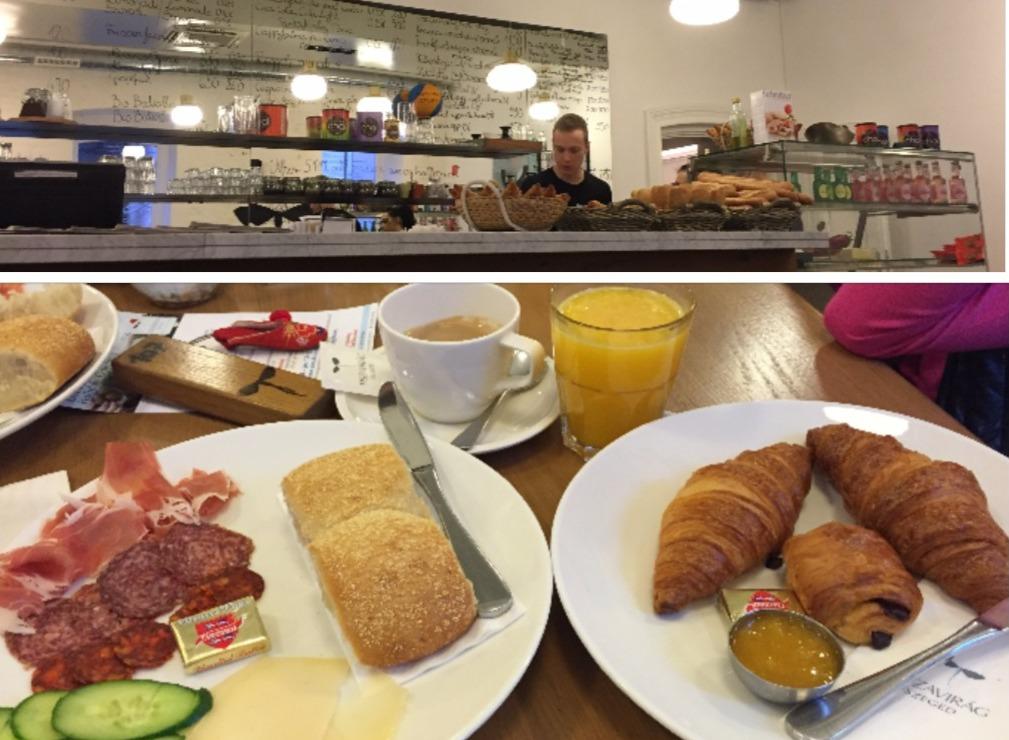 Mic dejun dulce si sarat la Tiszavirag