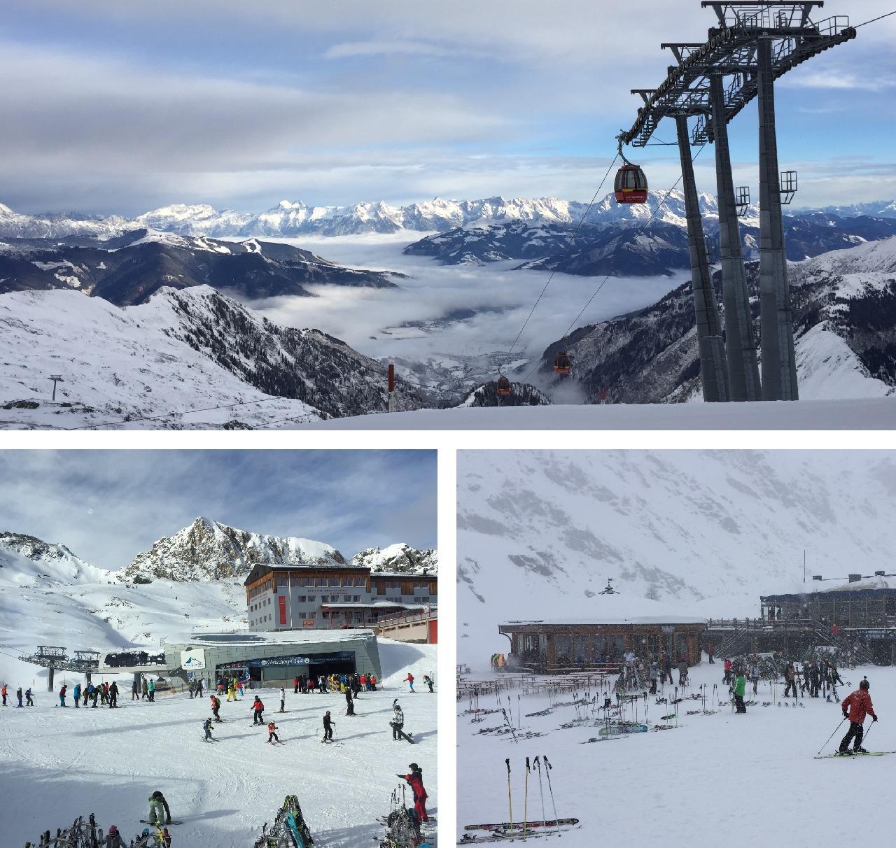 Ascensiune pe ghetarul Kitzsteinhorn cu Gletscherjet 1 + 2