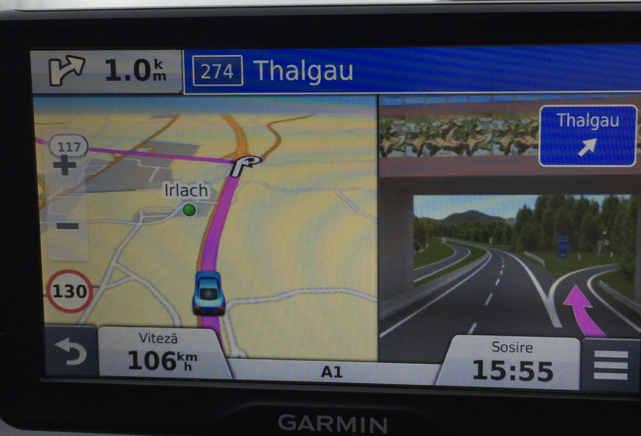 Ruta ocolitoare prin Thalgau
