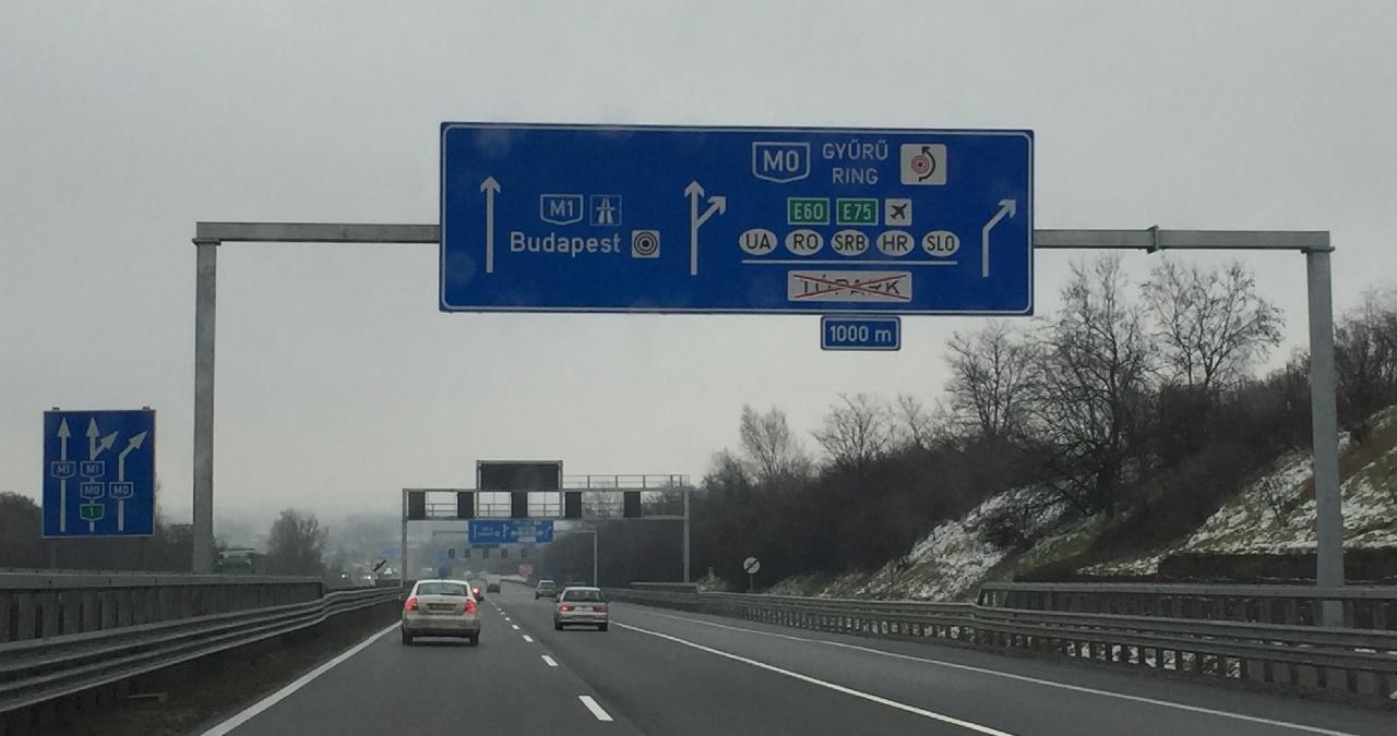 Traseu Kaprun - Budapesta