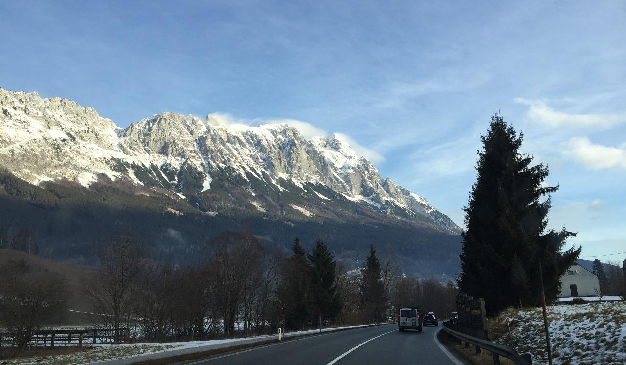 Frumusetea traseului Salzburg - Graz - Vama austro-ungara