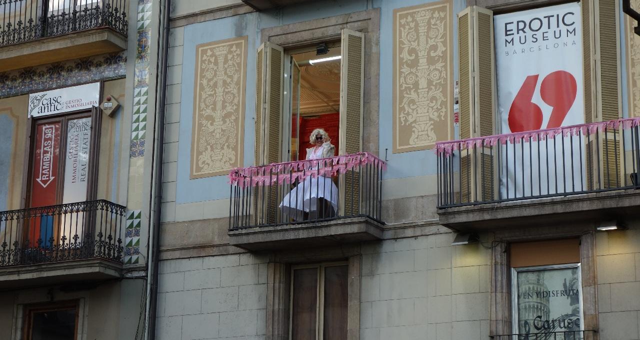 Marilyn Monroe de Barcelona :)