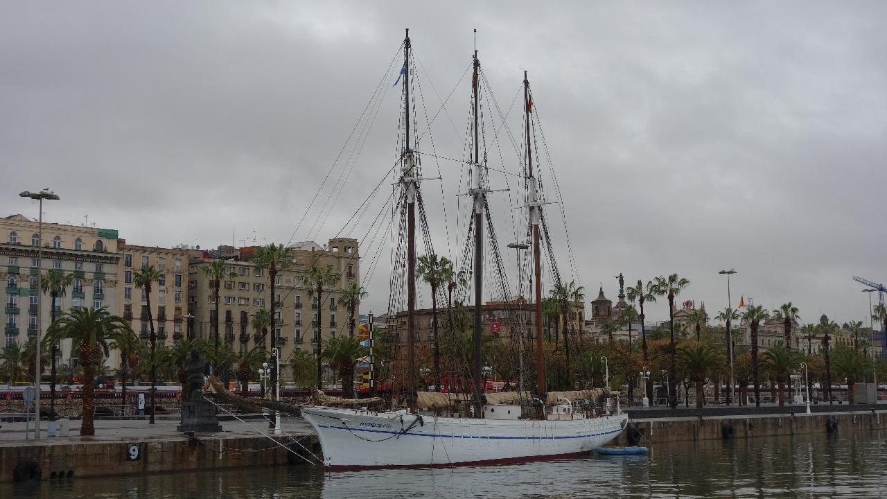 Goelette Santa Eulalia din Port Vell - Barcelona