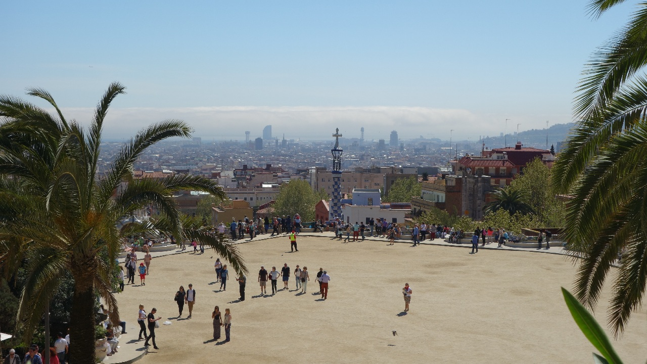 Vedere din Parc Guell