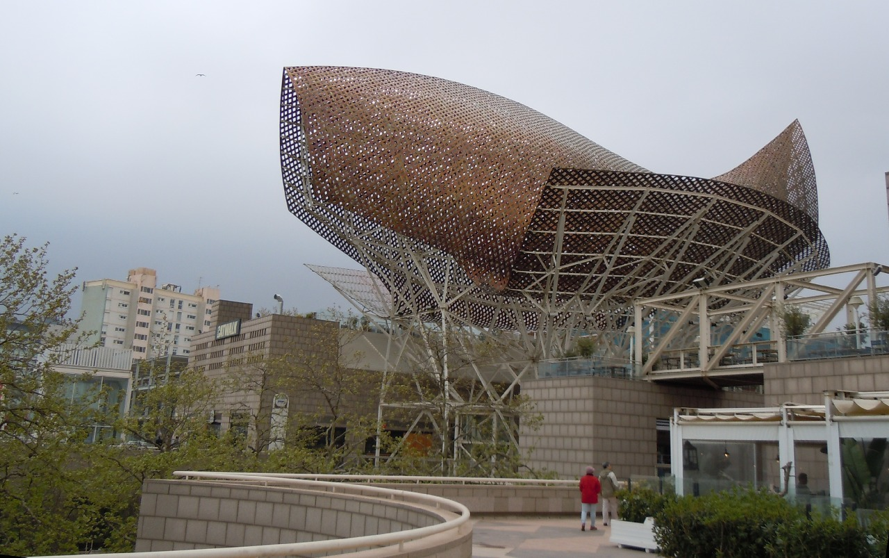 Port Olimpic inainte de ploaie
