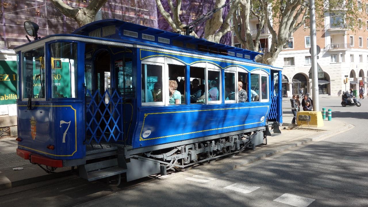 Tramvaiul Albastru din Barcelona