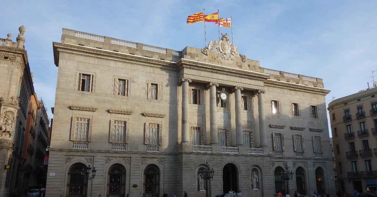 Cladirea Primariei barceloneze