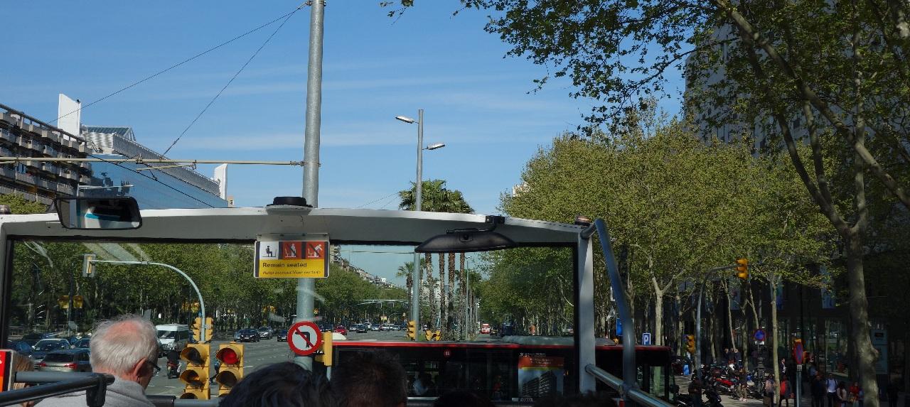 Cu Bus-ul Turistic prin Barcelona