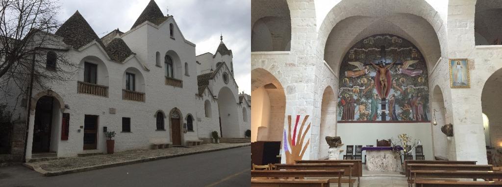 Exterior-interior Chiesa di Sant'Antonio