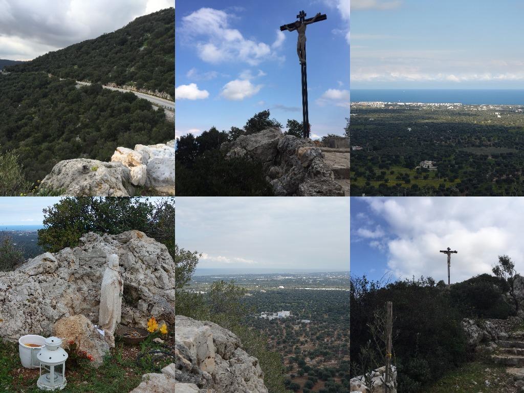 Punct panoramic intre Monopoli si Alberobello