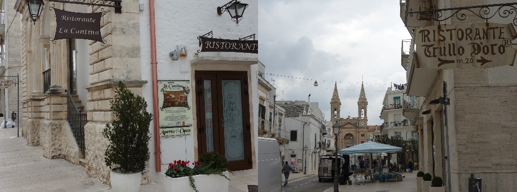 "Cele mai faimoase ""carciumi"" din Alberobello"