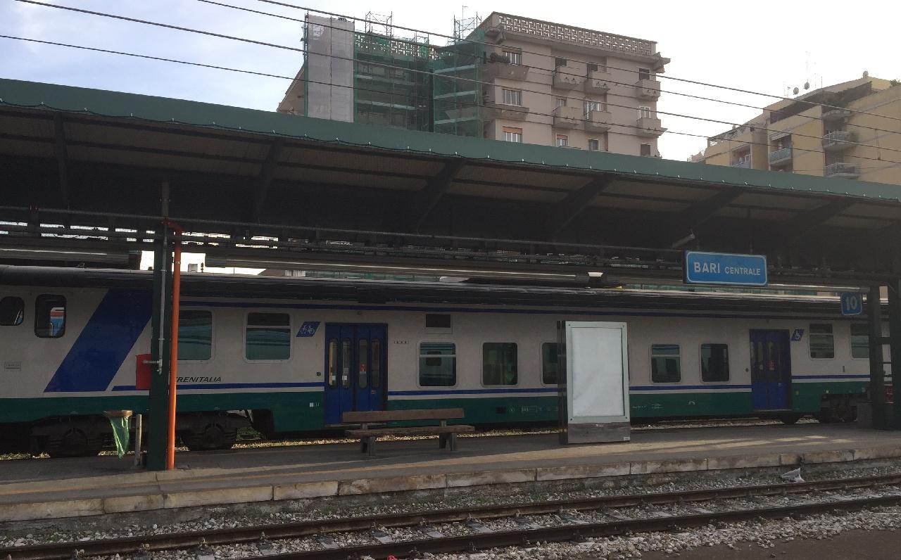 Trenitalia in gara Bari Centrale