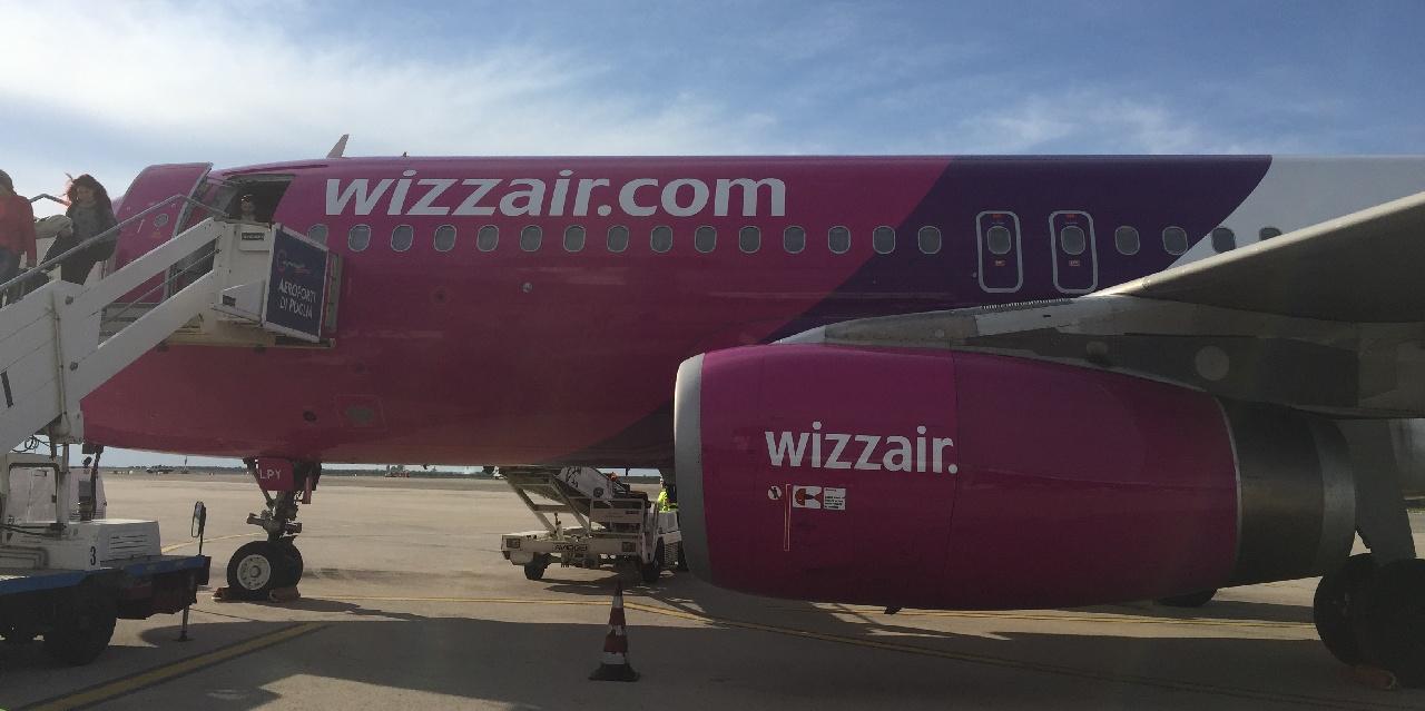 Wizz Air pe Aeroportul din Bari