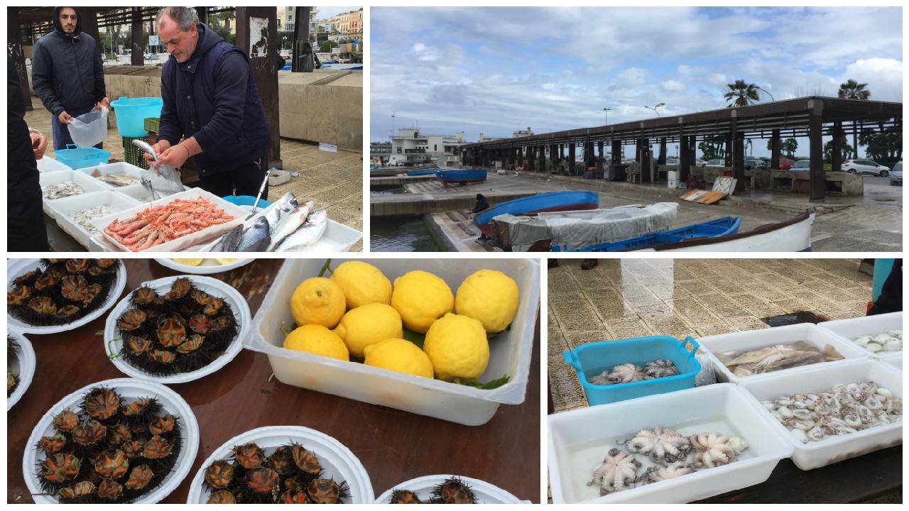 Piata de Peste din Portul Vechi