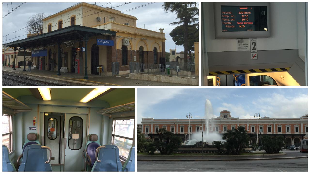 Cu trenul spre Bari