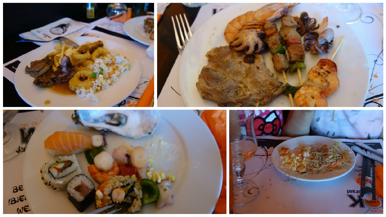 Pranz la Wok Japan Restaurant Barcelona