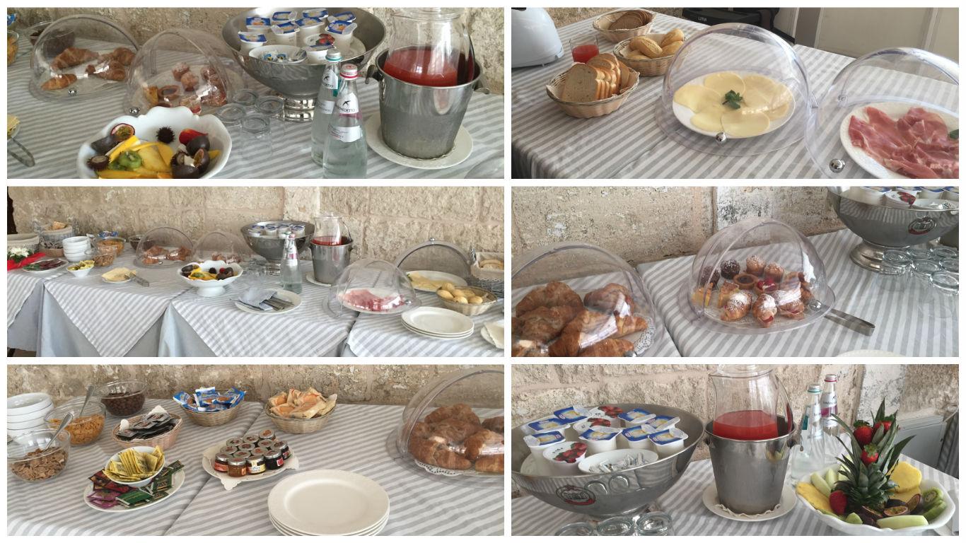 Oferta de mic dejun la Donna Gina