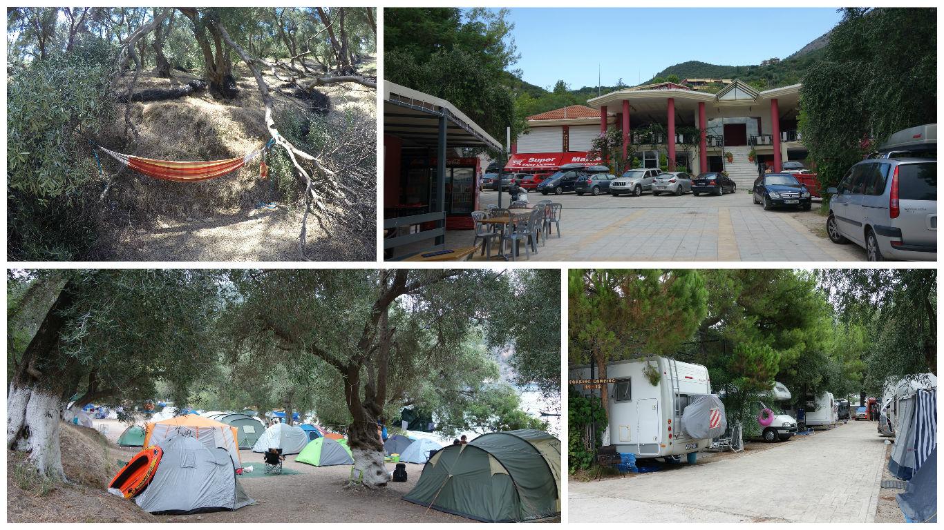 Camping Lichnos Beach