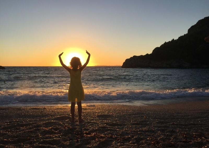 Sunset -  Sarakiniko Beach