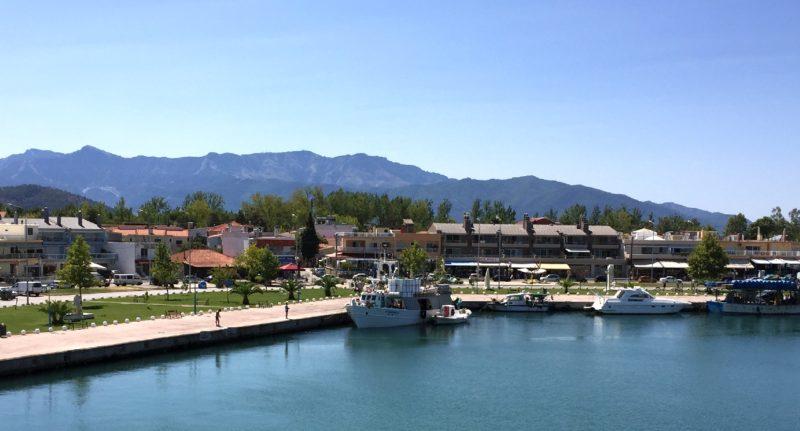Keramoti - ferry Thassos