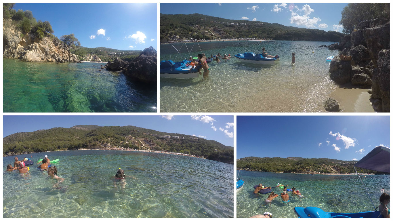 Cu hidrobicicleta la Agia Paraskevi Island