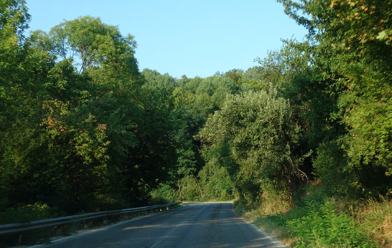 Traseul prin Pasul Shipka