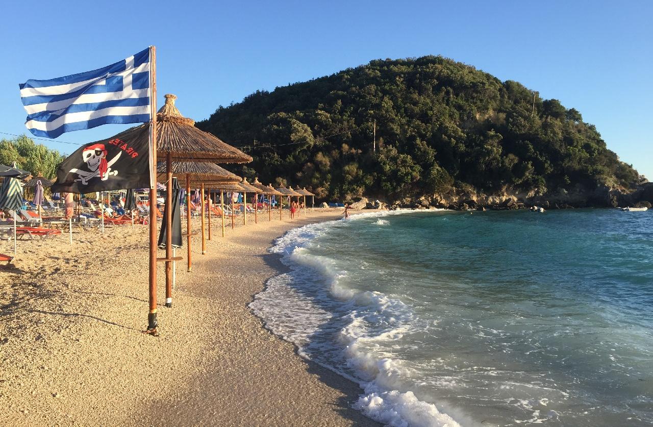 Sarakiniko - plaja Piratilor