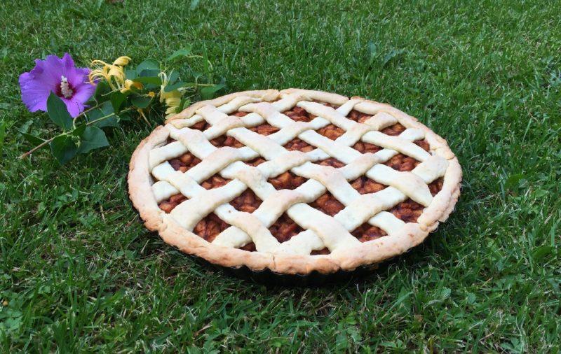 Tarta cu mere si scortisoara (de post)