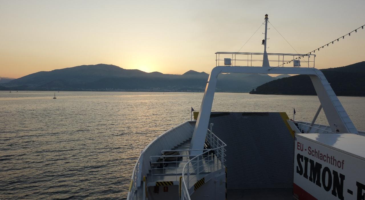 Transfer ferry Lefkimi - Igoumenitsa