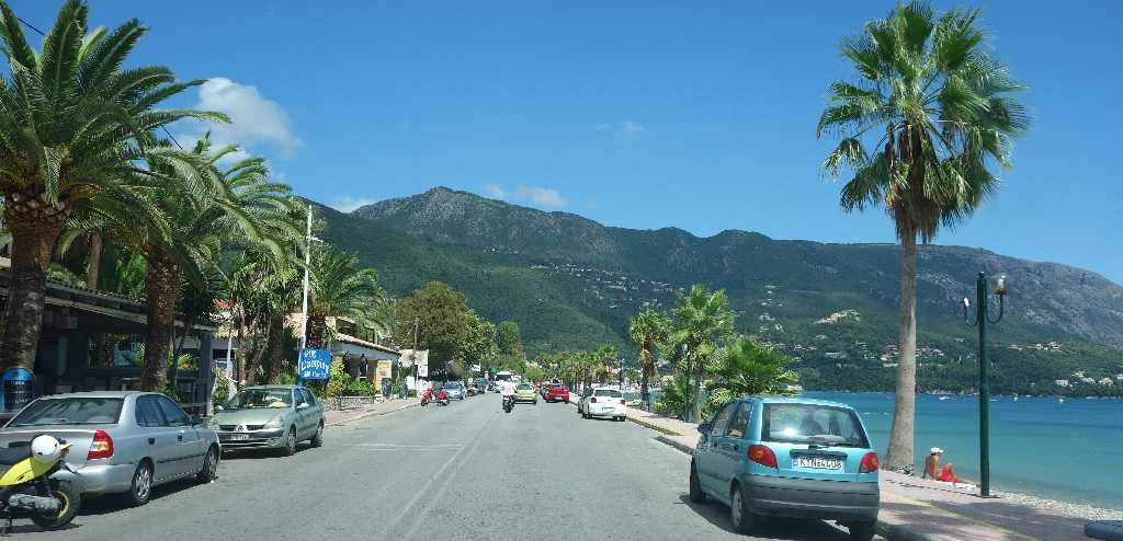 Estul Insulei Corfu