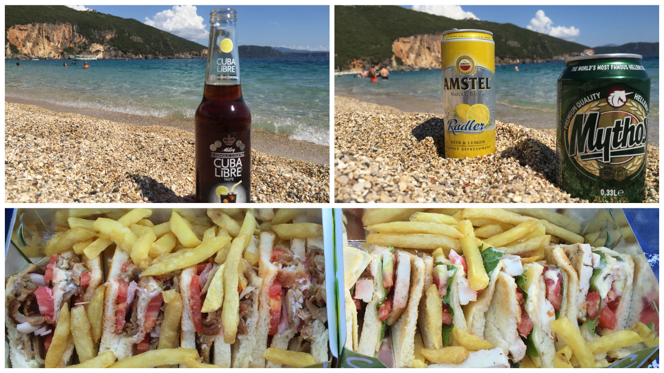 Sandwich Club & Refreshments - Taverna Gialos