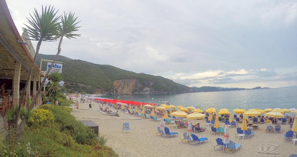 Lichnos Beach - Taverna Gialos