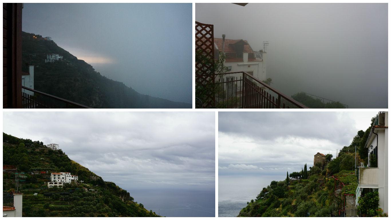 Furtuna pe Coasta Amalfitana