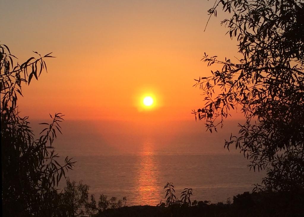 Apus de soare in Lefkada
