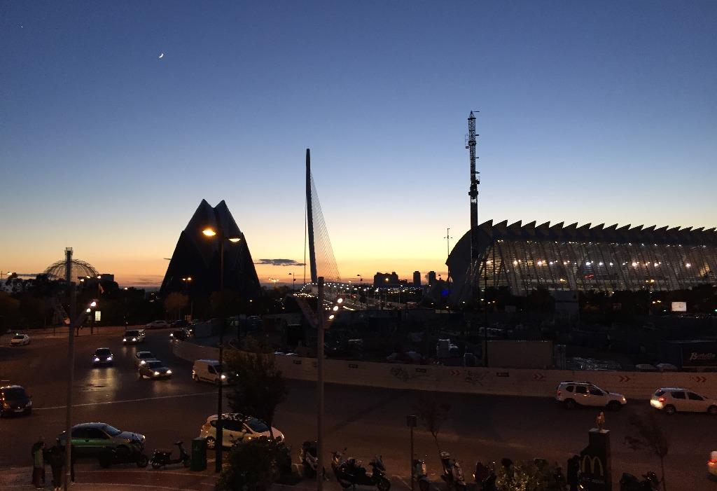 La revedere, Valencia!