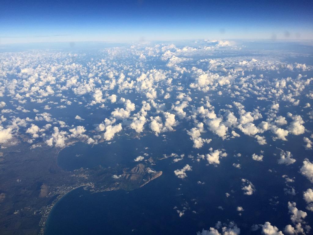Zbor deasupra Insulei Mallorca